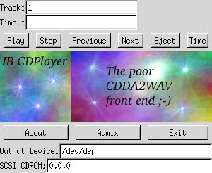 jbcd_player first screen shot