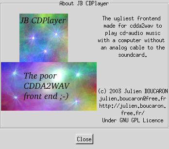 jbcd_player second screenshot
